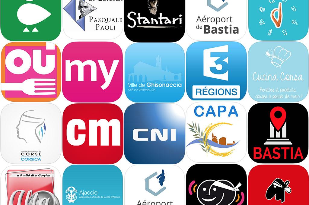 applications mobiles corse