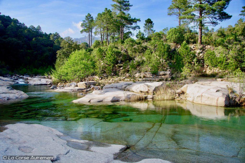 Rivière du Cavu, Corse