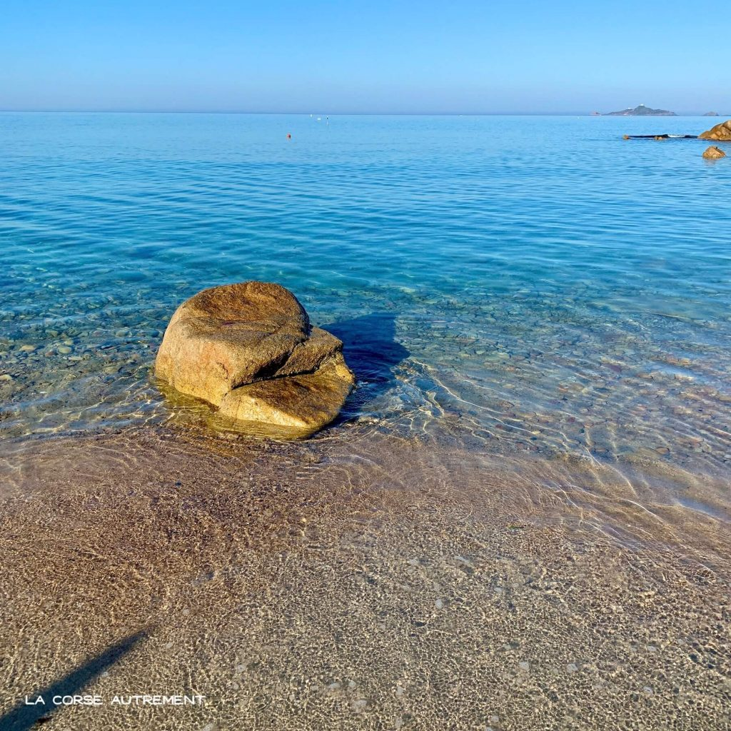 La plage du Scudo, Ajaccio