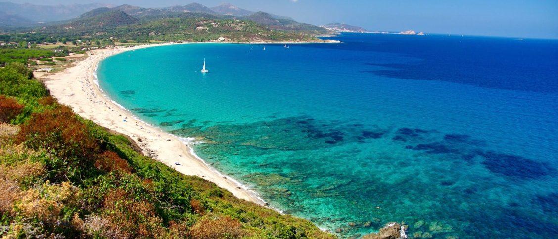 La plage de Losari en Balagne