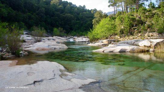 La rivière du Cavu en Corse