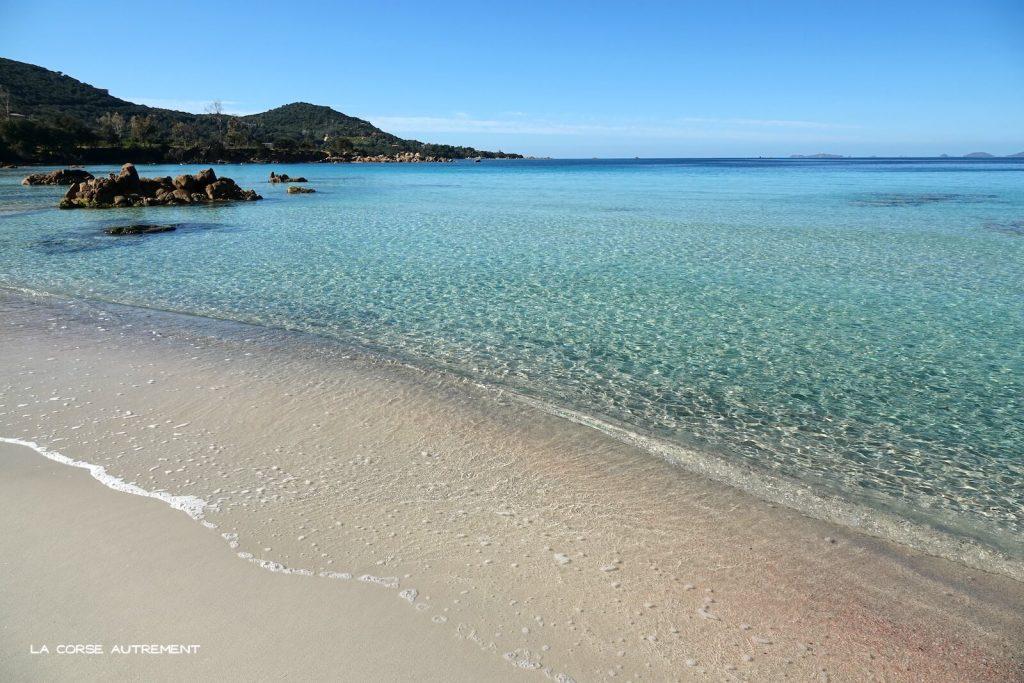 La plage de Mare e Sole, Corse