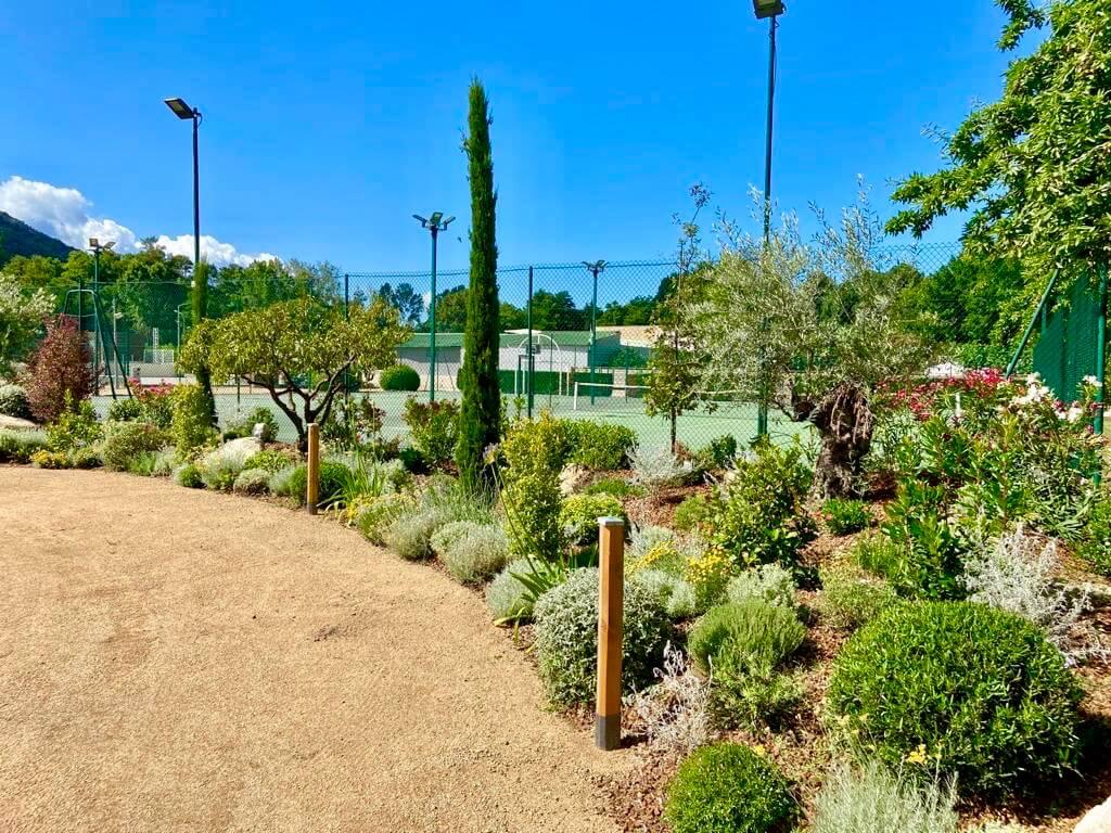 Jardin Tennis le Sagone Camping