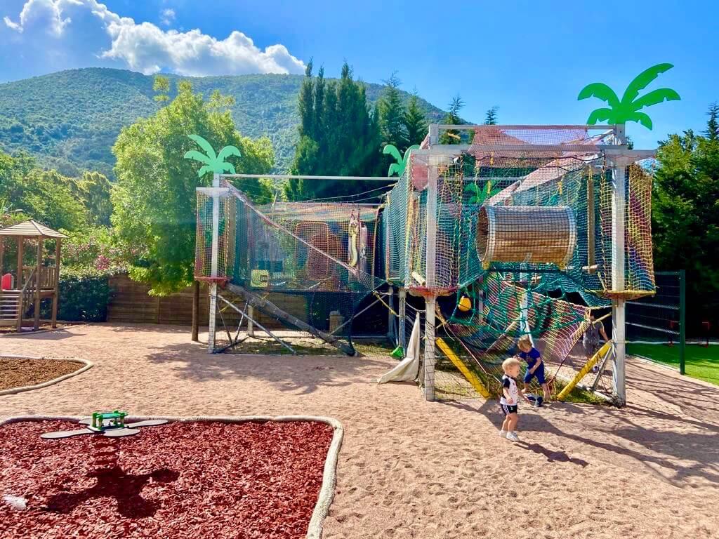 Jeux enfants Le Sagone Camping