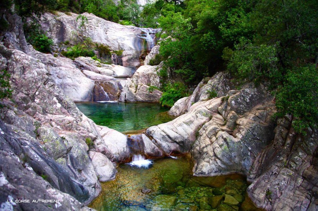 Bavella, les cascades de Purcaraccia
