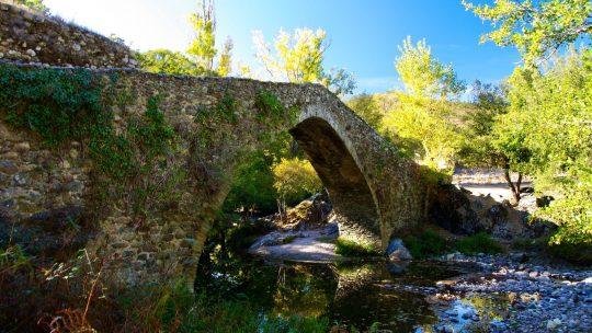 Le pont génois de Piana, Castifao