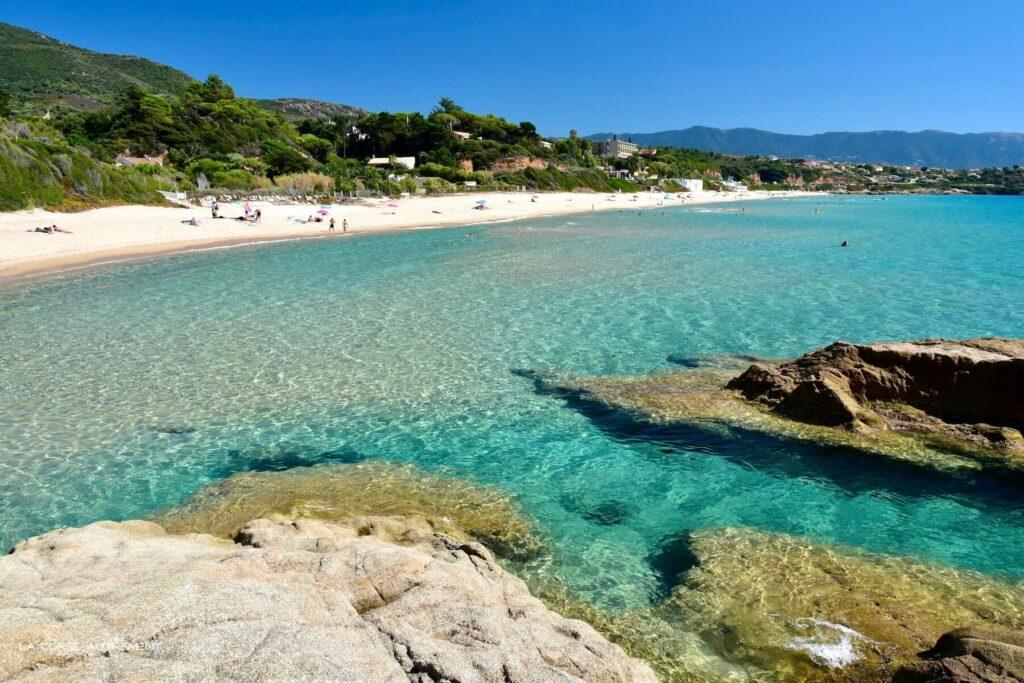 Plage de Santana, Coggia, Sagone, Corse
