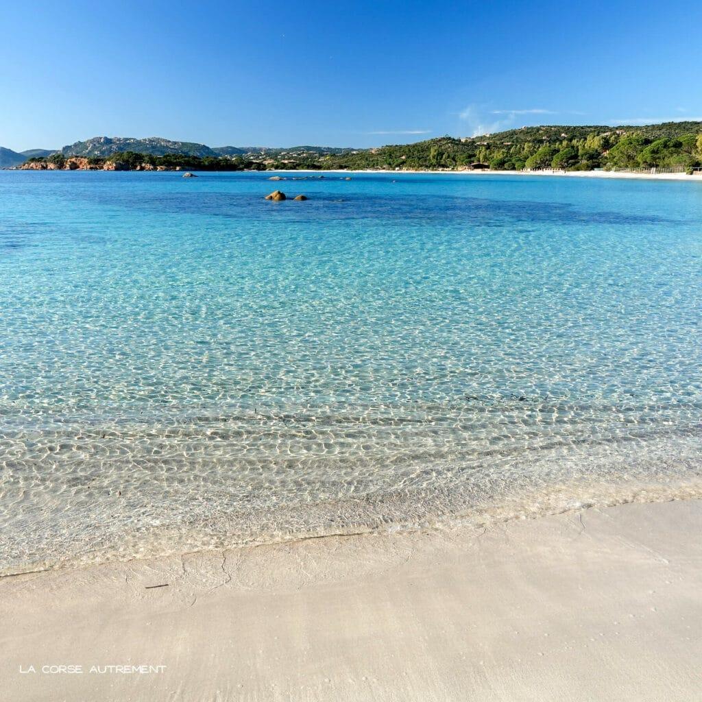 La plage de Tamaricciu en Corse