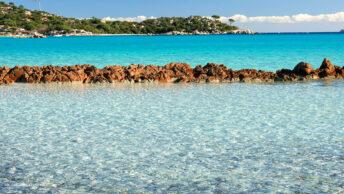 La baie de Santa Giulia en Corse