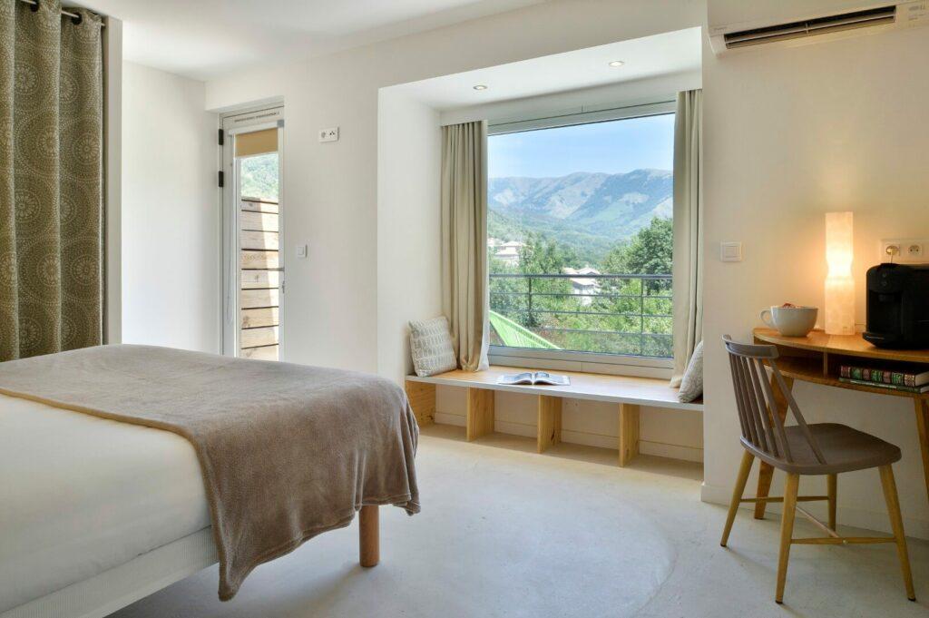 chambre hôtel Artemisia Bastelica