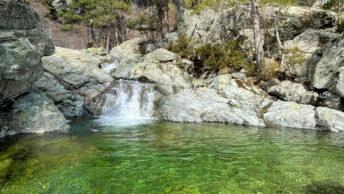 Cascades des Anglais, Vizzavona