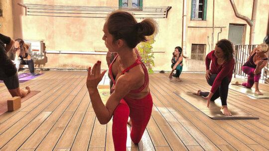 Lemon and Love Yoga